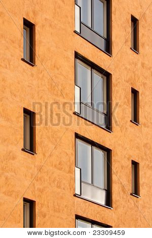 Windows Of The Residential Building