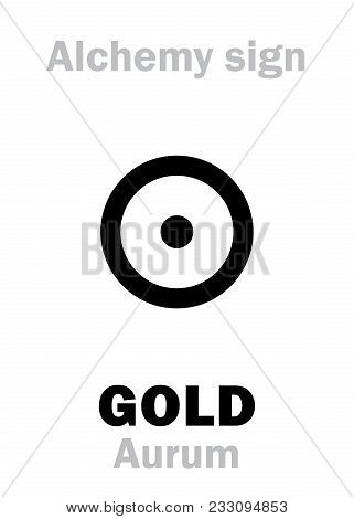 Alchemy Alphabet: Gold (aurum, Sol) -- Metal Of The Sun, Precious/noble Metal, Ultimate Goal Of Sear