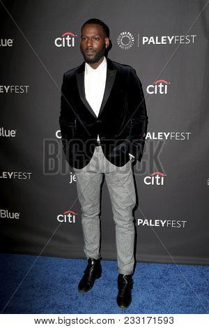 LOS ANGELES - MAR 24:  Kofi Siriboe at the 2018 PaleyFest Los Angeles -