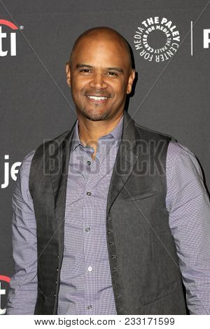 LOS ANGELES - MAR 24:  Dondre Whitfield at the 2018 PaleyFest Los Angeles -