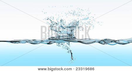 Water Surface Splash_bg