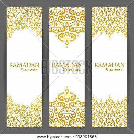 Illustration Of Ramadan Kareem Greetings For Ramadan Background With Floral Design