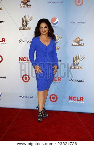 LOS ANGELES - SEP 10:  Gloria Estefan arriving at the 2011 NCLR ALMA Awards held at Santa Monica Civic Auditorium on September 10, 2011 in Santa Monica, CA