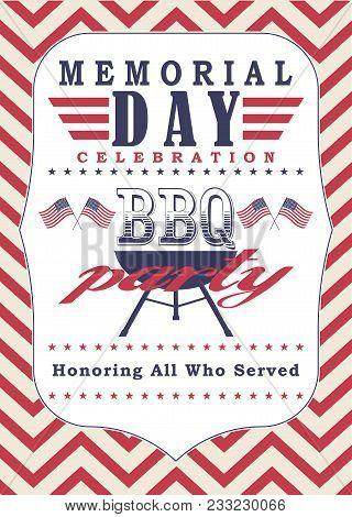 memorial day poster vector photo free trial bigstock