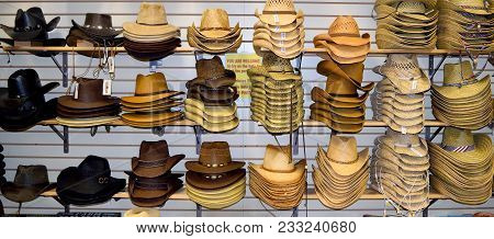 a7f9cb80624e ... order nashville tennessee usa march 20 2018 cowboy hats for sale at  willie nelson and friends