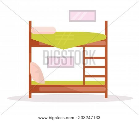 Bunk Bed Vector Vector Photo Free Trial Bigstock