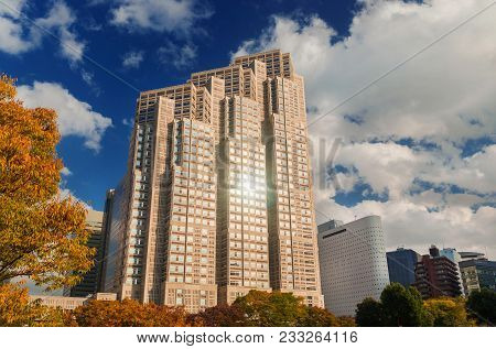 Tokyo, Japan - November 10: Tokyo Metropolitan Government Building No 2, Knows As Tocho, Built In 19