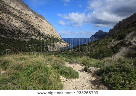 Boquer Valley On Majorca In Spain. Europe