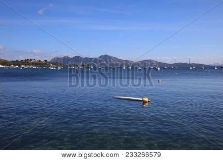Bay In Northern Majorca In Spain. Europe