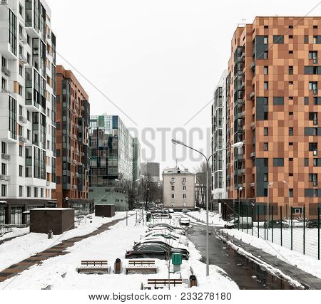 New Residential Complex In Moscow
