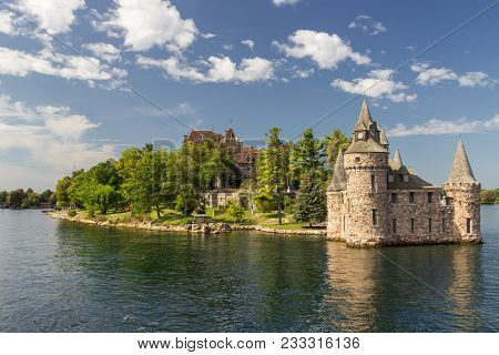 Boldt Castle Island In Thousand Islands (canada)