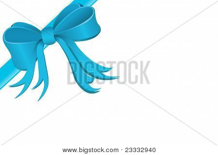 gift wrapped with silk ribbon