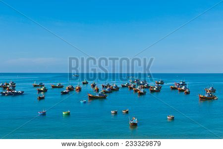 Summer In Mui Ne Beach, South Vietnam
