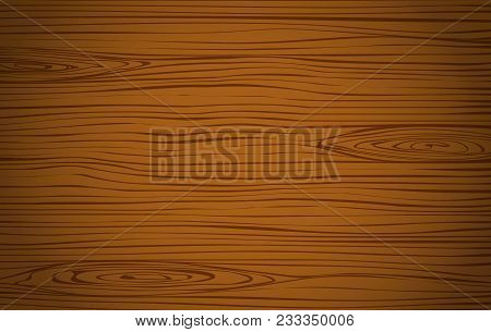 Dark Brown Wooden Cutting, Chopping Board, Table Or Floor Surface. Wood Texture