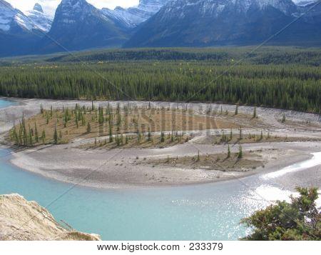 Athabasca River - Jasper National Park, Alberta, Canada