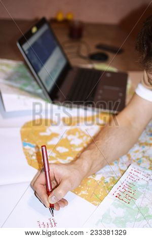 Man Analysis And Plan Route For Orienteering And Rogaine Sport Competition With Maps And Graphs In L