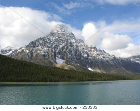 45a Mt Howse Waterfowl Lake  Banff National Park Alberta Canada