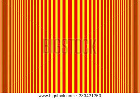 Simple Striped Background - Red And Yellow - Vertical Lines, Red And Yellow Halftone Vertical Stripe