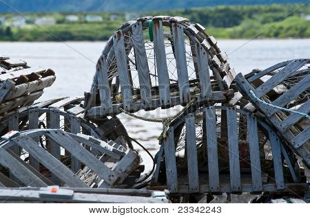 Newfoundland lobster pots