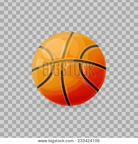 Beautiful Realistic Classic, Basketball Ball, For Playing. Competitive Games, Physical Education, Ho