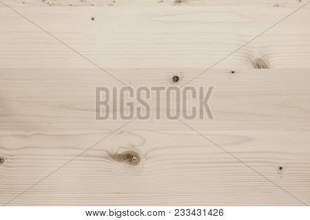 White Sepia Brown Pine Wood Texture Woodgrain Detail Horizontal Pattern Background