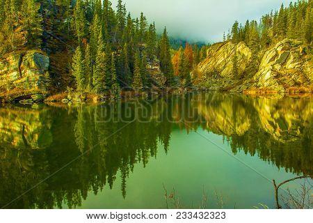 Yellowhead Lake, Mount Robson Provincial Park, British Columbia, Canada