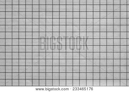 The Sheet Of Checkered Paper Of A Notebook For Arithmetics And For A School Background Or For Wallpa