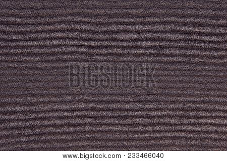 Abstract Macro Texture Of Damp Synthetic Fabric For A Background Of Dark Lilac Color