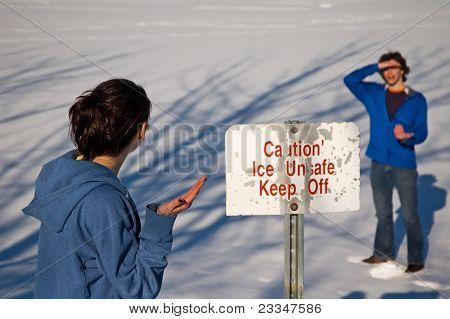 Ice Unsafe