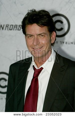 CULVER CITY, CA - SEPT. 10: Charlie Sheen arrives at the Comedy Central Roast of Charlie Sheen at Sony Studios on Sept. 10, 2011 in Culver City, CA.