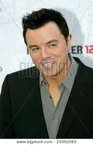 CULVER CITY, CA - SEPT. 10: Seth MacFarlane arrives at the Comedy Central Roast of Charlie Sheen at Sony Studios on Sept. 10, 2011 in Culver City, CA.