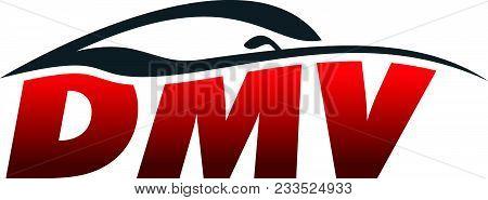 Letter D M V Modern Logo Design Template Vector Isolated