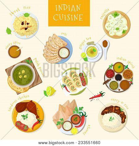 Indian Food Vector Vector Photo Free Trial Bigstock