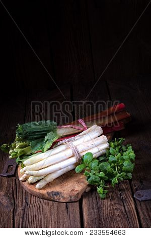 A Fresh And Tasty Delicious White Asparagus
