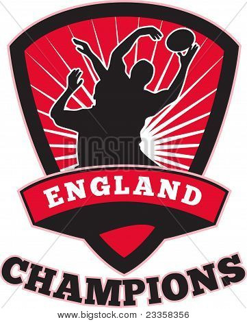 Rugby Player England Champions