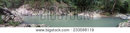 The Swimming Hole At Mudgeeraba Qld Australia