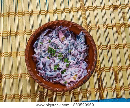 Polish Fried Red Cabbage With Apples  - Czerwona Kapusta