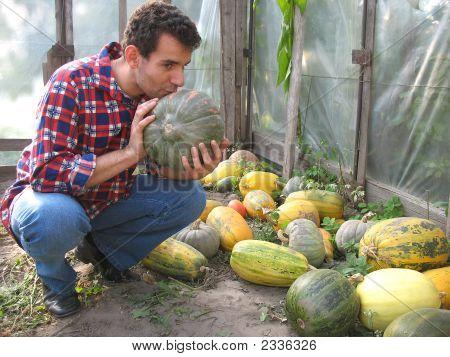 Kissing The Pumpkin