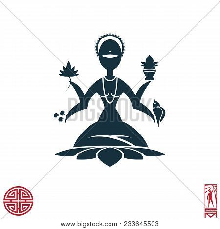 Man Person Basic Body Position Stick Figure Icon Silhouette Vector Sign,feng Shui, China, Oriental,