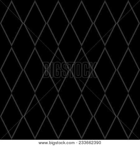 Tile Grey And Black Vector Pattern Or Seamless Decoration Wallpaper
