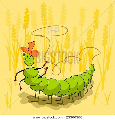Caterpillar Throws A Lasso