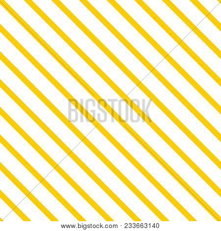 Tile Yellow And White Stripes Summer Vector Pattern