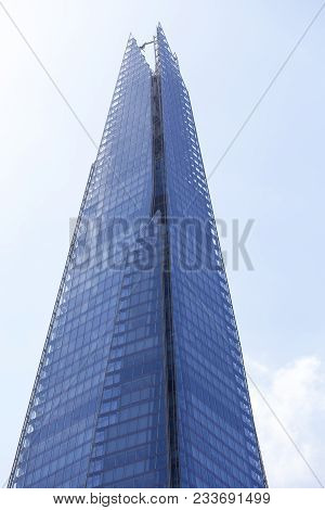 London, United Kingdom - June 22, 2017: Modern Office Building , Skyscraper Shard, London.the Shard