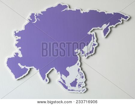 Free blank map of South East Asia