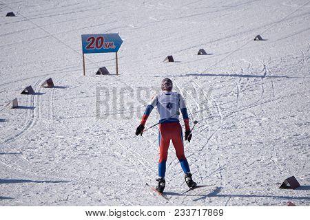 Competing In The Ski World Ski Championship Men's .