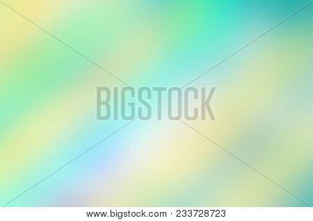 Spring  Blurred Green Bokeh Abstract Background