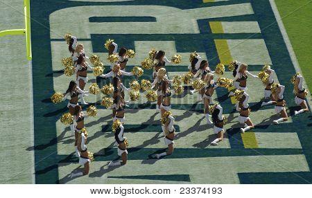 Attractive Cheerleaders