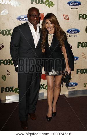 LOS ANGELES - SEP 12: L.A. Reid; Paula Abdul at the Fox Fall Eco Casino Party at The Bookbindery on September 12, 2011 in Culver City, Los Angeles, CA