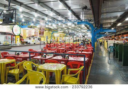 Restaurants Of Feira Central In Campo Grande City