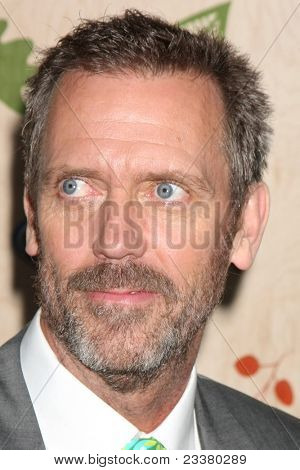 LOS ANGELES - SEP 12:  Hugh Laurie arriving at the 7th Annual Fox Fall Eco-Casino Party at The Bookbindery on September 12, 2011 in Culver City, CA
